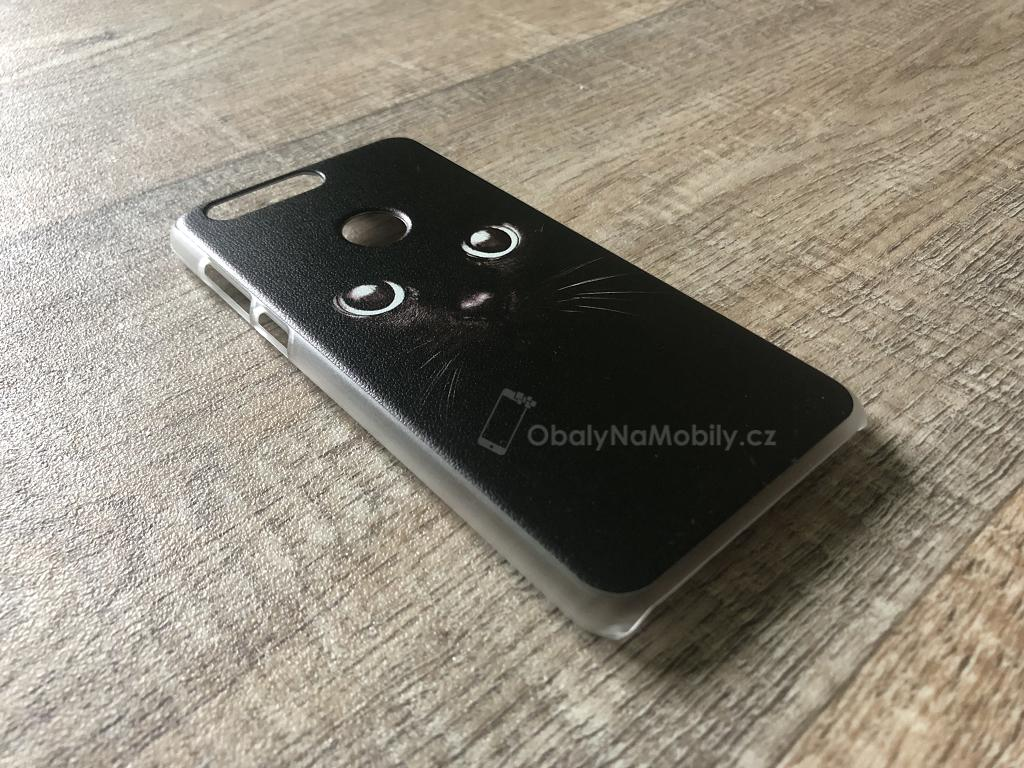 Kryt na mobil Honor 8 - iSaprio Black Cat